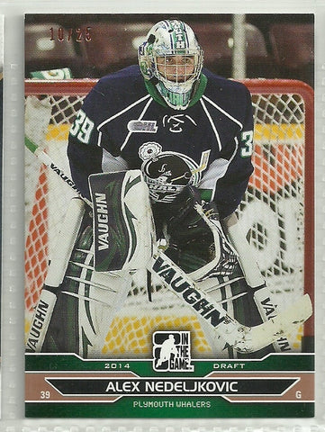 Alex Nedeljkovic 2014 In the Game Draft Prospects Bronze #56 /25 SP