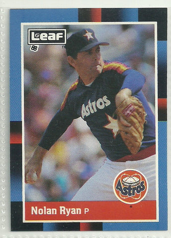 Nolan Ryan 1988 Leaf/Donruss #77