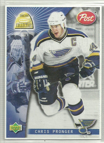 Chris Pronger 1998-99 Upper Deck Kraft Collection - Post Cereal #18
