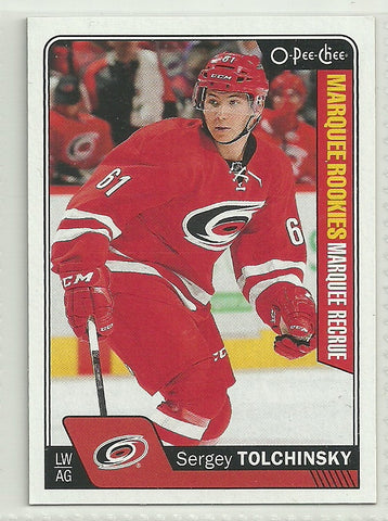 Sergey Tolchinsky 2016-17 O-Pee-Chee #598 Marquee Rookie
