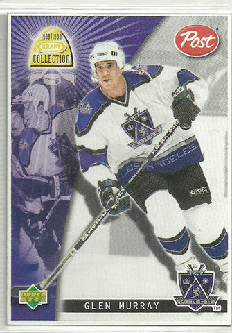 Glen Murray 1998-99 Upper Deck Kraft Collection - Post Cereal #11