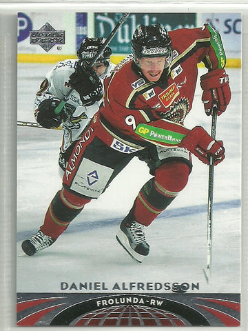 Daniel Alfredsson 2004-05 UD All-World #57