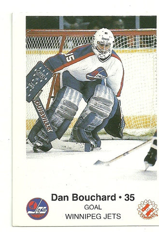 Dan Bouchard 1985-86 Winnipeg Jets Police Safety Tips