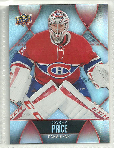 Carey Price 2016-17 Upper Deck Tim Hortons Collector's Series #31