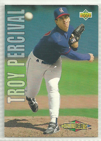 Troy Percival 1993 Upper Deck #507