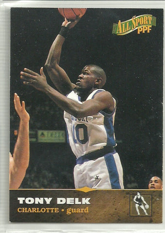 Tony Delk 1996 Score Board All Sport PPF #16