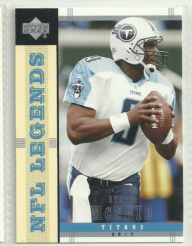 Steve McNair 2004 Upper Deck NFL Legends #85
