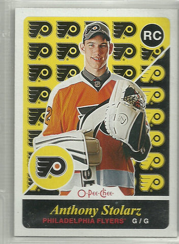 Anthony Stolarz 2015-16 O-Pee-Chee Retro #513 Rookie Card