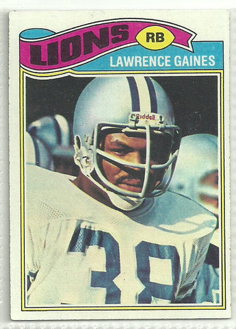 Lawrence Gaines 1977 Topps #21 Rookie Card