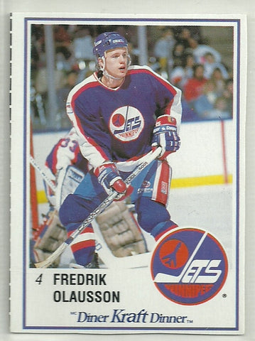 Fredrik Olausson 1989-90 Kraft Dinner #51 - First Row Collectibles