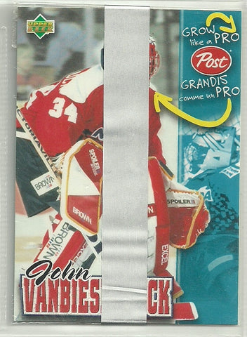 John Vanbiesbrouck 1996-97 Upper Deck Post