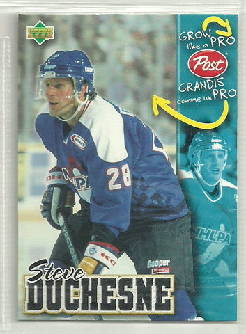 Steve Duchesne 1996-97 Upper Deck Post - First Row Collectibles