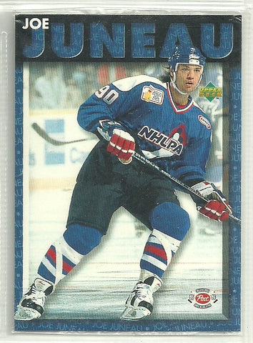Joe Juneau 1995-96 Upper Deck Post #7 - First Row Collectibles