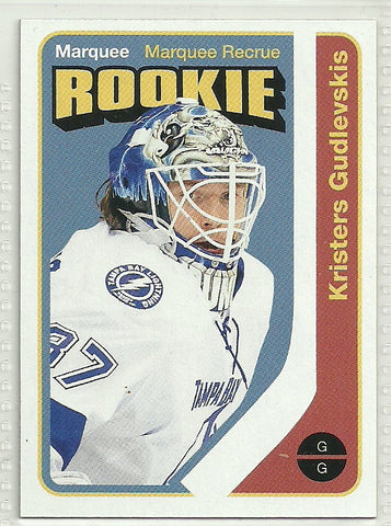 Kristers Gudlevskis 2014-15 O-Pee-Chee Retro #523 Rookie Card