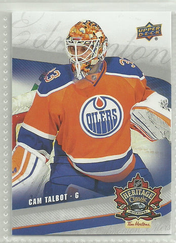 Cam Talbot 2016 Tim Hortons Heritage Classic SP Card