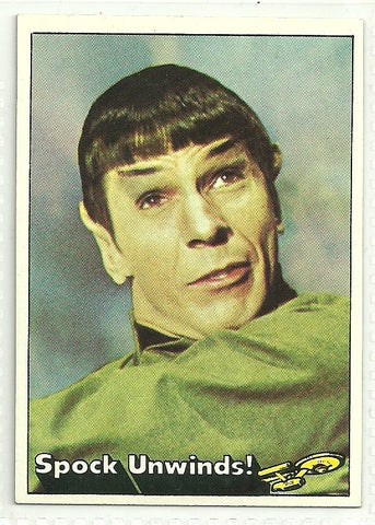 Spock 1976 Topps Star Trek Card #37