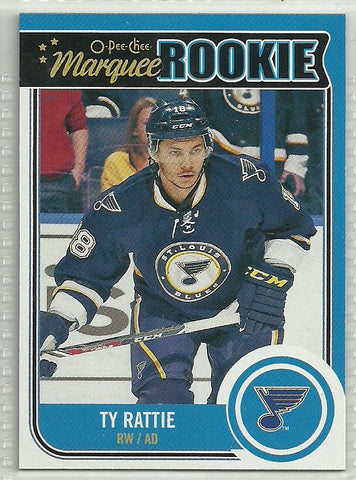 Ty Rattie 2014-15 O-Pee-Chee #503 Rookie Card