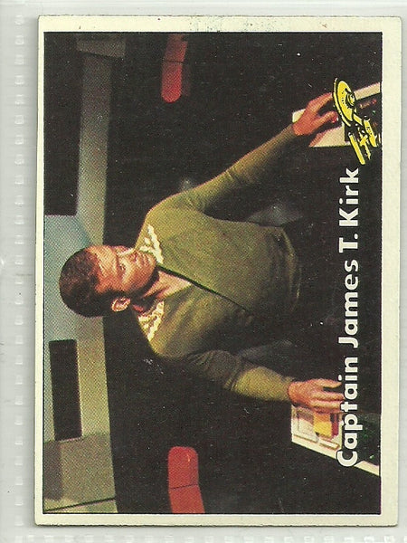 Captain James T. Kirk 1976 Topps Star Trek #2 - First Row Collectibles