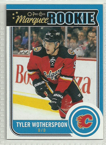 Tyler Wotherspoon 2014-15 O-Pee-Chee #543 Rookie Card