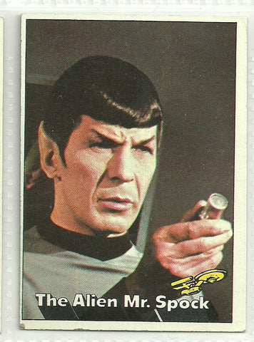Mr. Spock 1976 Topps Star Trek #12
