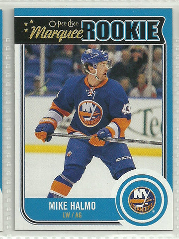 Mike Halmo 2014-15 O-Pee-Chee #548 Rookie Card