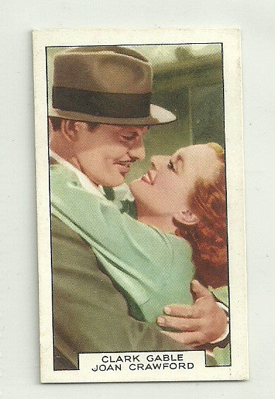 Clark Gable & Joan Crawford 1935 Gallaher Film Partners Tobacco #11 - First Row Collectibles