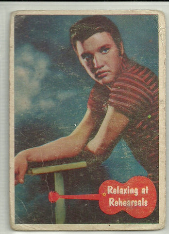 Elvis Presley 1956 Topps Bubbles Elvis Presley Card #3 - First Row Collectibles