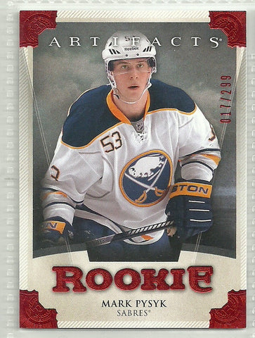 Mark Pysyk 2013-14 Upper Deck Artifacts Ruby #177 /299