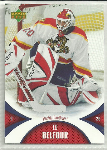 Ed Belfour 2006-07 Upper Deck Mini Jersey Collection #48