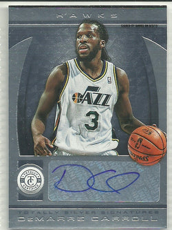 DeMarre Carroll 2013-14 Totally Certified - Signatures - Totally Silver #218