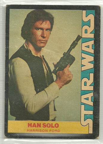 Han Solo 1977 Wonder Bread Star Wars Food Issue #4