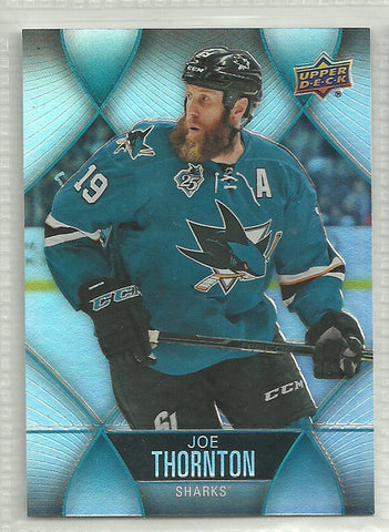 Joe Thornton 2016-17 Upper Deck Tim Hortons Collector's Series #60 - First Row Collectibles