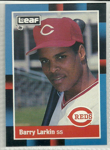 Barry Larkin 1988 Leaf #226