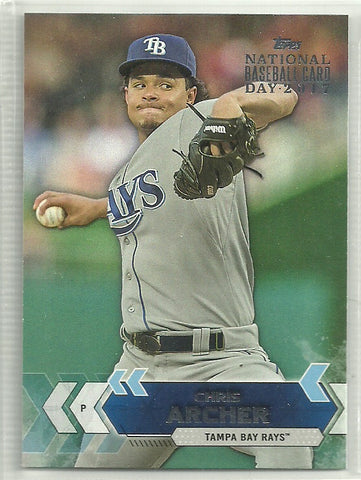 Chris Archer 2017 Topps National Baseball Card Day #28