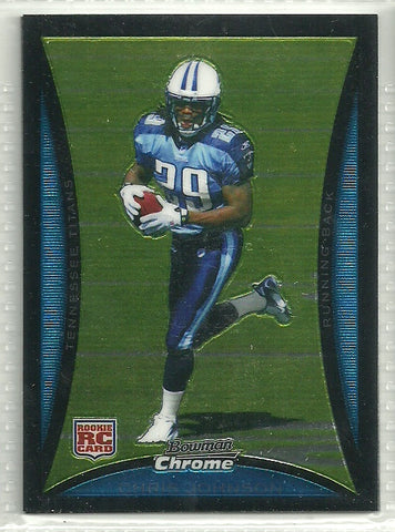 Chris Johnson 2008 Bowman Chrome #BC76 - First Row Collectibles