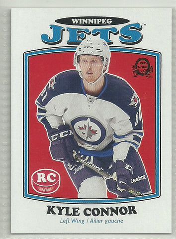 Kyle Connor 2016-17 Upper Deck - O-Pee-Chee Update - Retro #676 Rookie Card