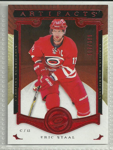Eric Staal 2015-16 Upper Deck Artifacts Ruby #112 /399