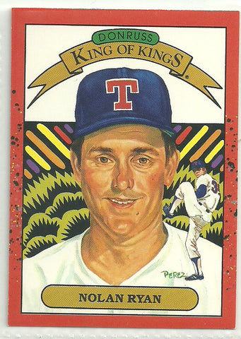 Nolan Ryan 1990 Donruss #665