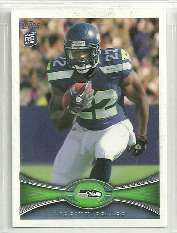 Robert Turbin 2012 Topps #6 Rookie Card