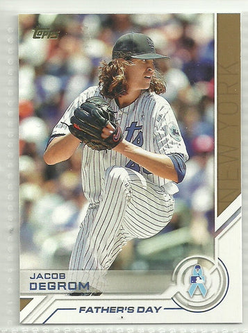 Jacob DeGrom 2017 Topps Father's Day #S-6