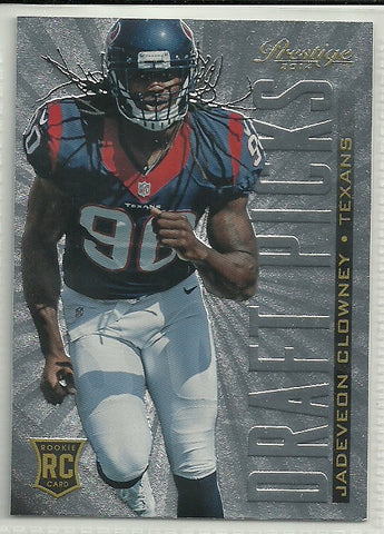 Jadeveon Clowney 2014 Panini Prestige Draft Picks #DP6