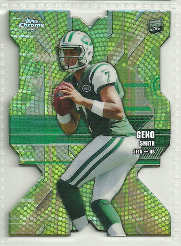 Geno Smith 2013 Topps Chrome Rookie Die-Cuts #RDC-GS