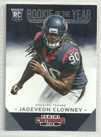 Jadeveon Clowney 2014 Panini Contenders Rookie of the Year Contenders #ROY-19