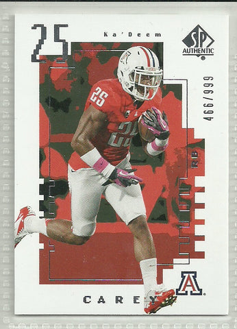 Ka' Deem Carey 2014 SP Authentic - 2000 Future Watch #FW-12 /999