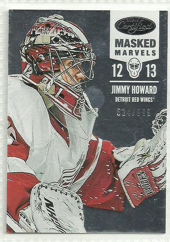Jimmy Howard 2012-13 Panini Certified #120 /999 - First Row Collectibles