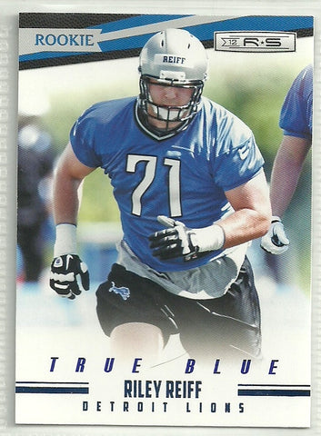 Riley Reiff 2012 Panini Rookies & Stars True Blue #202