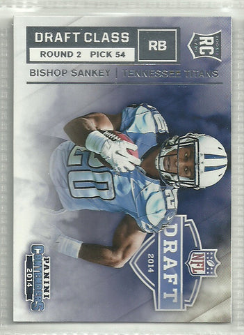 Bishop Sankey 2014 Panini Contenders Draft Class #RDA-7