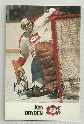 Ken Dryden 1988-89 ESSO NHL All-Star Collection #KEDR
