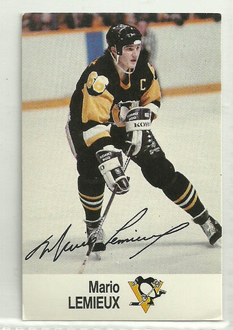 Mario Lemieux 1988-89 ESSO NHL All-Star Collection
