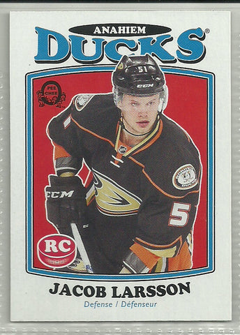 Jacob Larsson 2016-17 O-Pee-Chee Update Retro Rookie Card #698